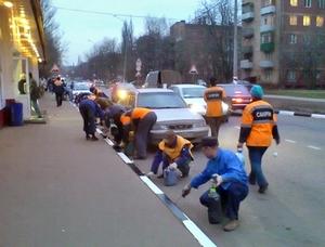 Полосы на московских дорогах могут сузиться
